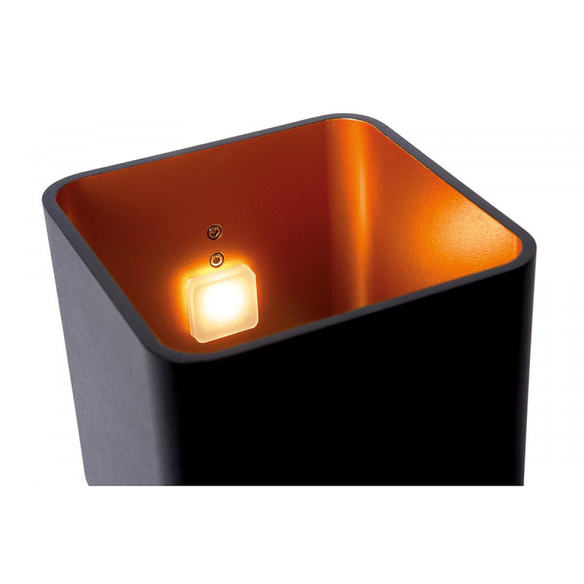 led tischleuchte schwarz gold led tischlampe schwarz gold. Black Bedroom Furniture Sets. Home Design Ideas