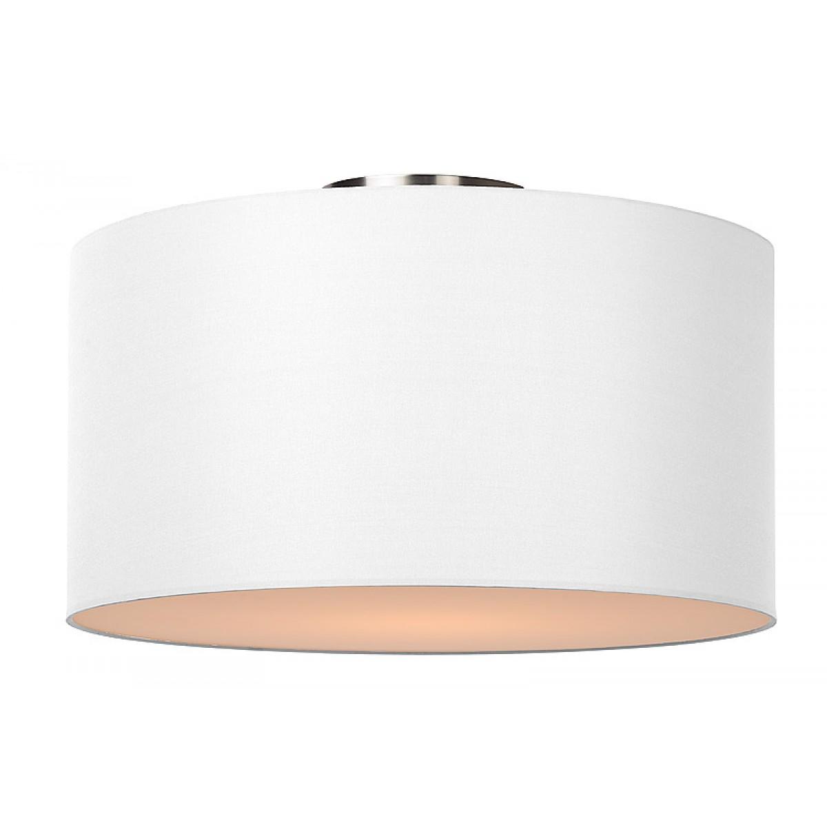 deckenleuchte rund wei deckenlampe wei lampenschirm durchmesser 45 cm deckenleuchten. Black Bedroom Furniture Sets. Home Design Ideas