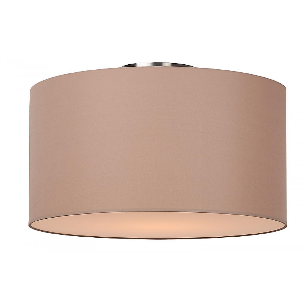 deckenleuchte rund taupe deckenlampe taupe lampenschirm durchmesser 45 cm deckenleuchten. Black Bedroom Furniture Sets. Home Design Ideas