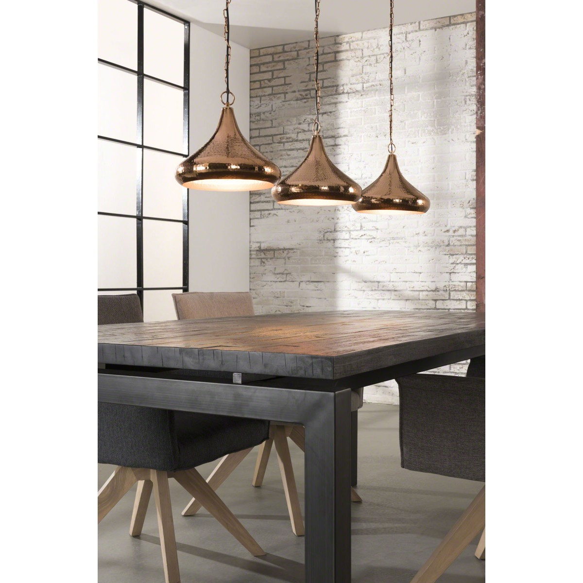 pendelleuchte kupfer metall h ngelampe metall geh mmert kupfer durchmesser 30 cm. Black Bedroom Furniture Sets. Home Design Ideas