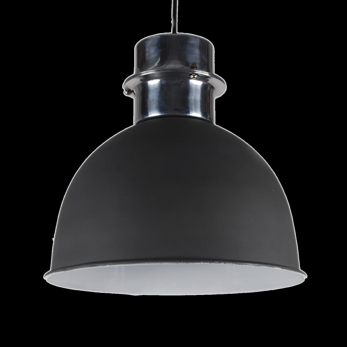 pendelleuchte grau matt metall h ngelampe metall grau durchmesser 30 cm. Black Bedroom Furniture Sets. Home Design Ideas