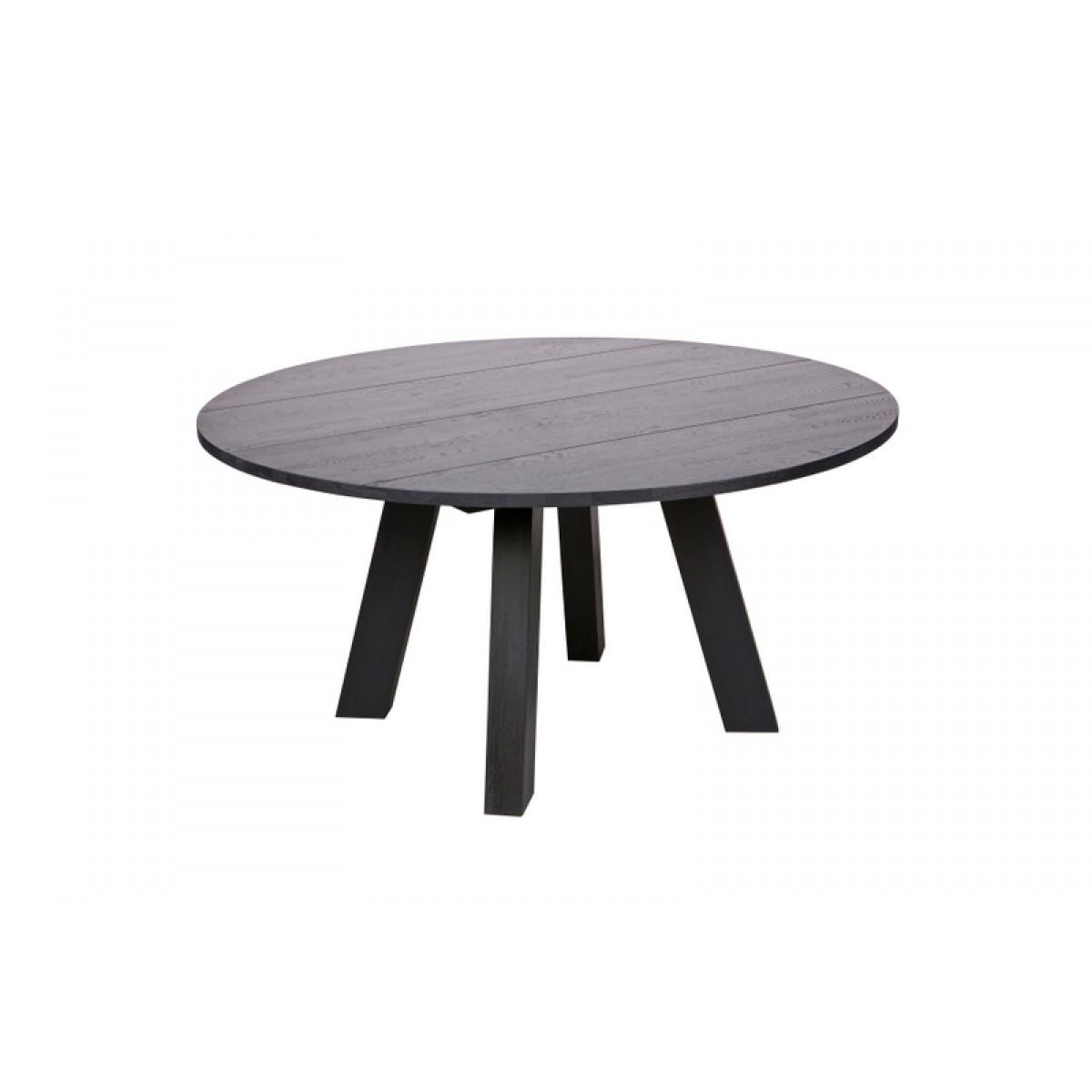 tisch schwarz rund massivholz esstisch eiche massiv rund. Black Bedroom Furniture Sets. Home Design Ideas