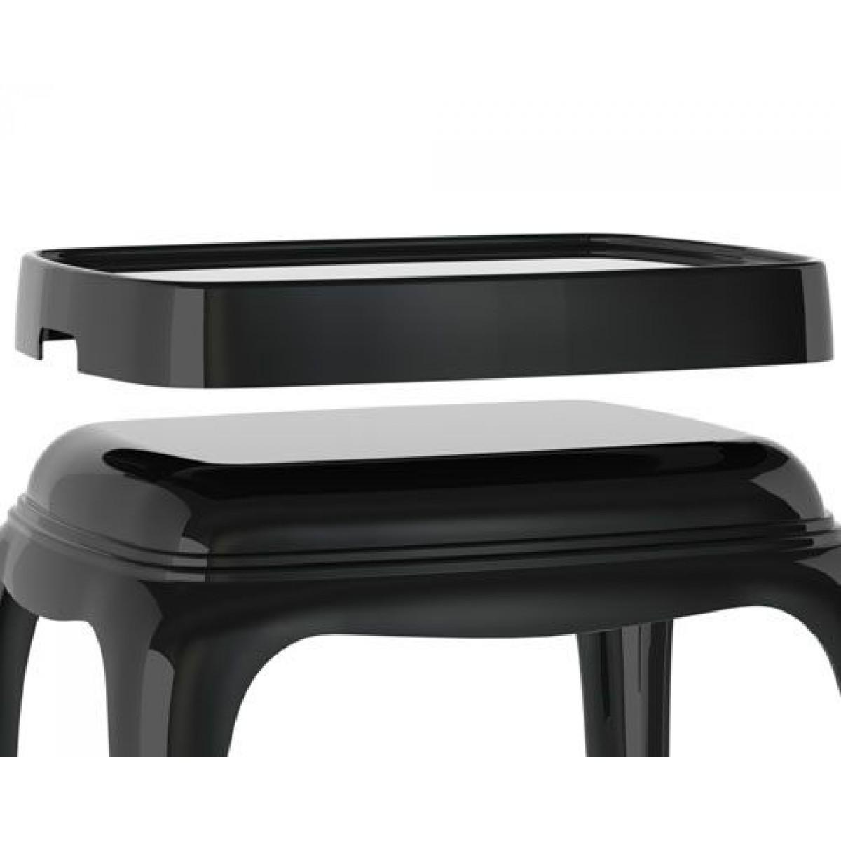 Beistelltisch schwarz Kunststoff, Hocker modern, Couchtisch schwarz | {Hocker modern kunststoff 32}