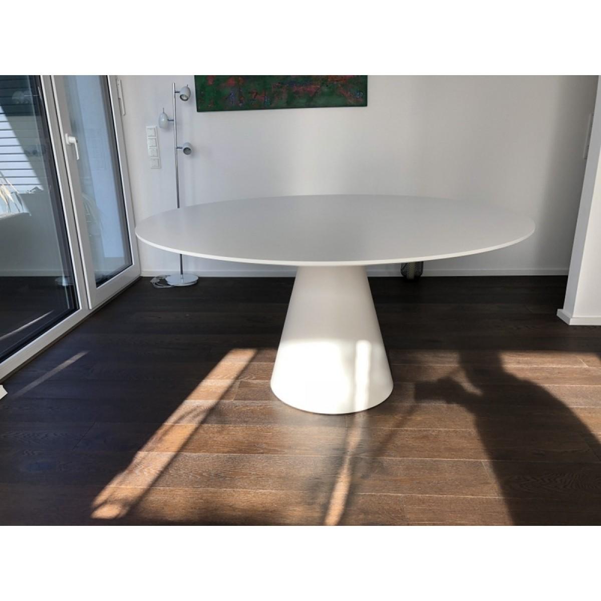 Tisch Rund Weiss Esstisch Weiss Rund Tisch Weiss Rund Durchmesser 160 Cm