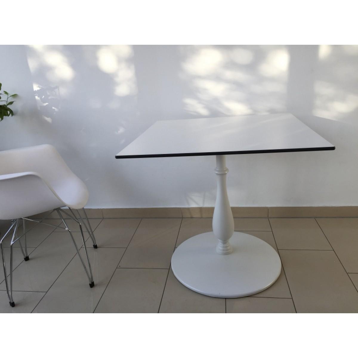 esstisch wei 80x80 good esstisch bull kchentisch in wei. Black Bedroom Furniture Sets. Home Design Ideas
