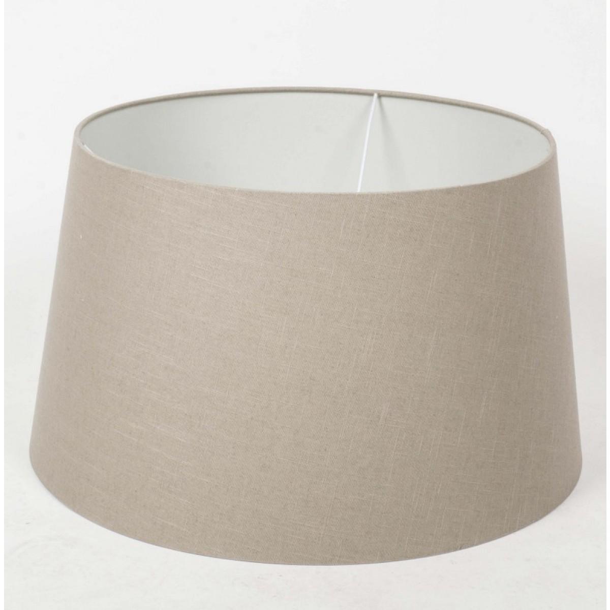 lampenschirm taupe f r eine stehleuchte tischleuchte 60 cm. Black Bedroom Furniture Sets. Home Design Ideas