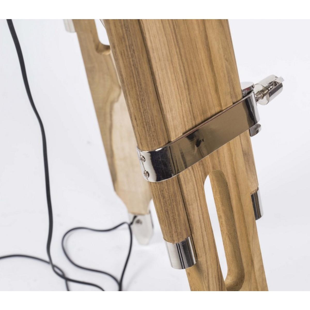 dreibein stehlampe cheap dreibein stehleuchte im retrodesign sandfarben oder mint with dreibein. Black Bedroom Furniture Sets. Home Design Ideas