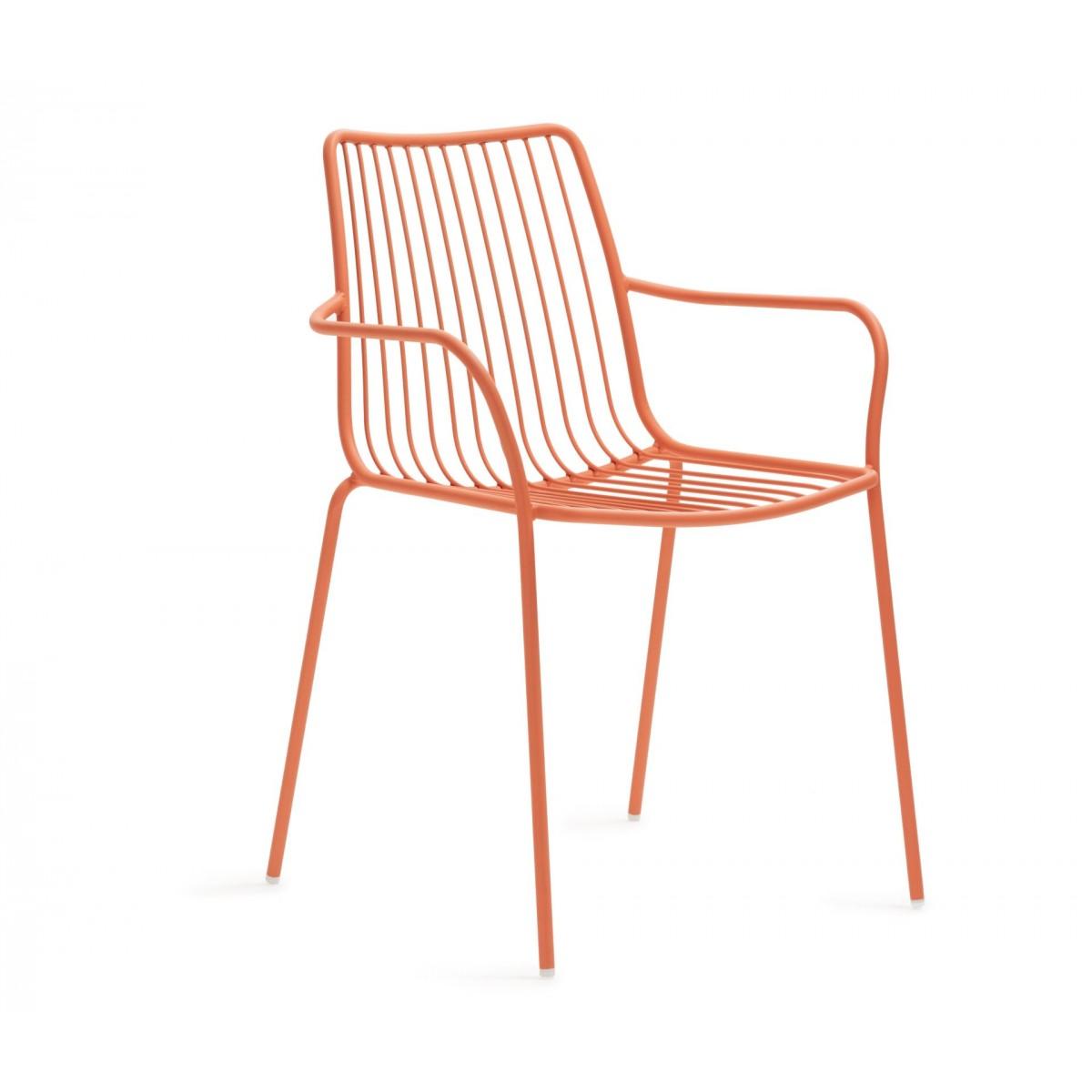 stuhl orange metall mit armlehne stapelbar gartenstuhl mit armlehne orange metall. Black Bedroom Furniture Sets. Home Design Ideas