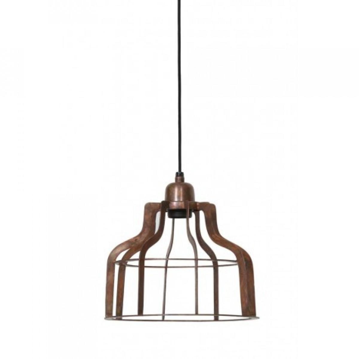 h ngeleuchte kupfer metall h ngelampe metall kupfer durchmesser 24 cm. Black Bedroom Furniture Sets. Home Design Ideas