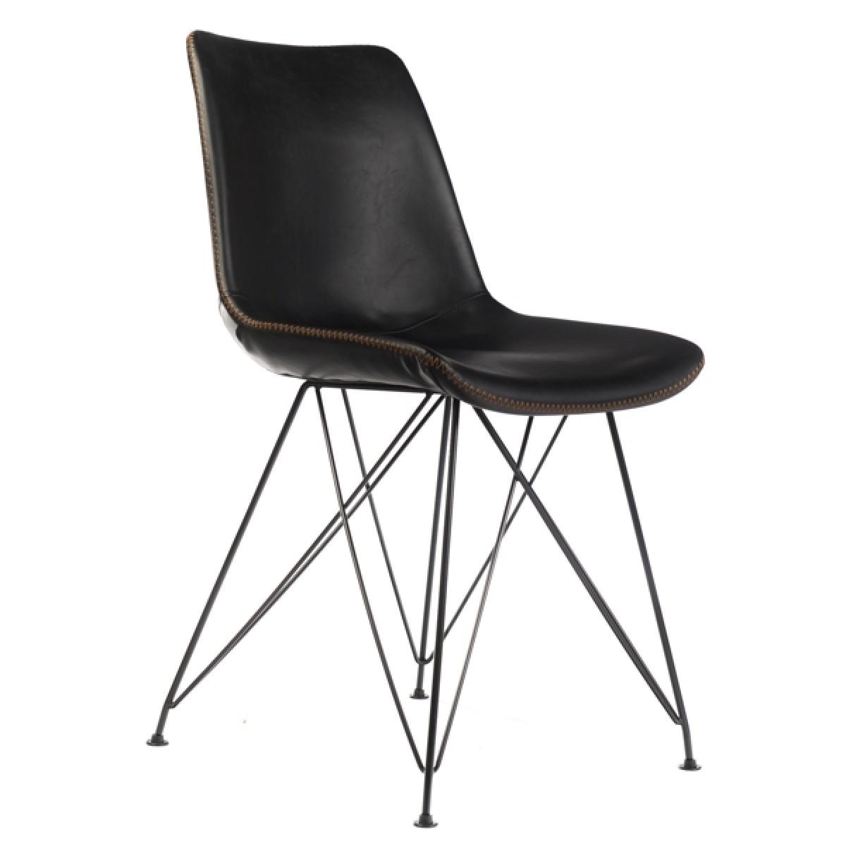 Stuhl schwarz stuhl gepolstert schwarz for Stuhl gepolstert