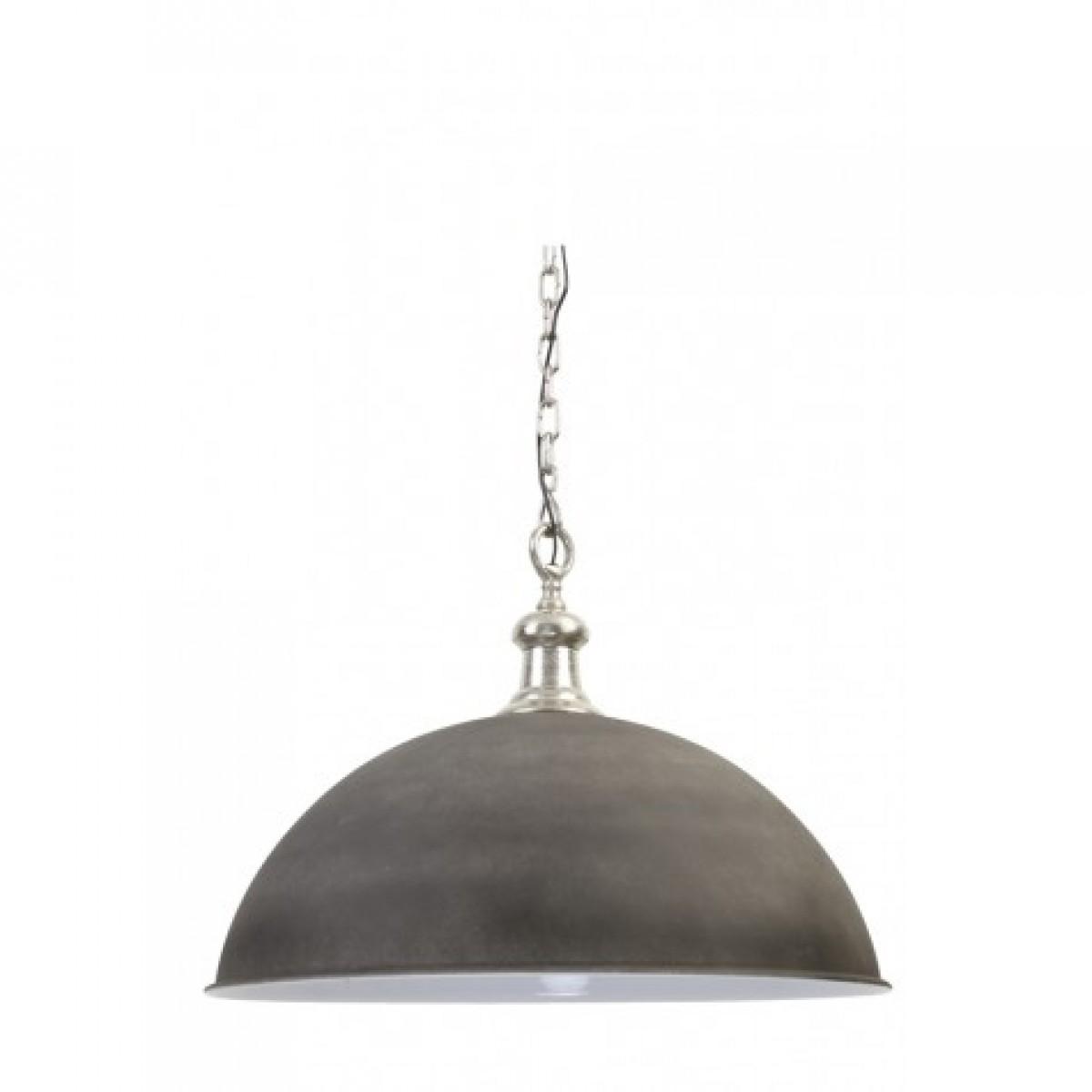 h ngeleuchte grau silber pendelleuchte silber durchmesser 70 cm. Black Bedroom Furniture Sets. Home Design Ideas