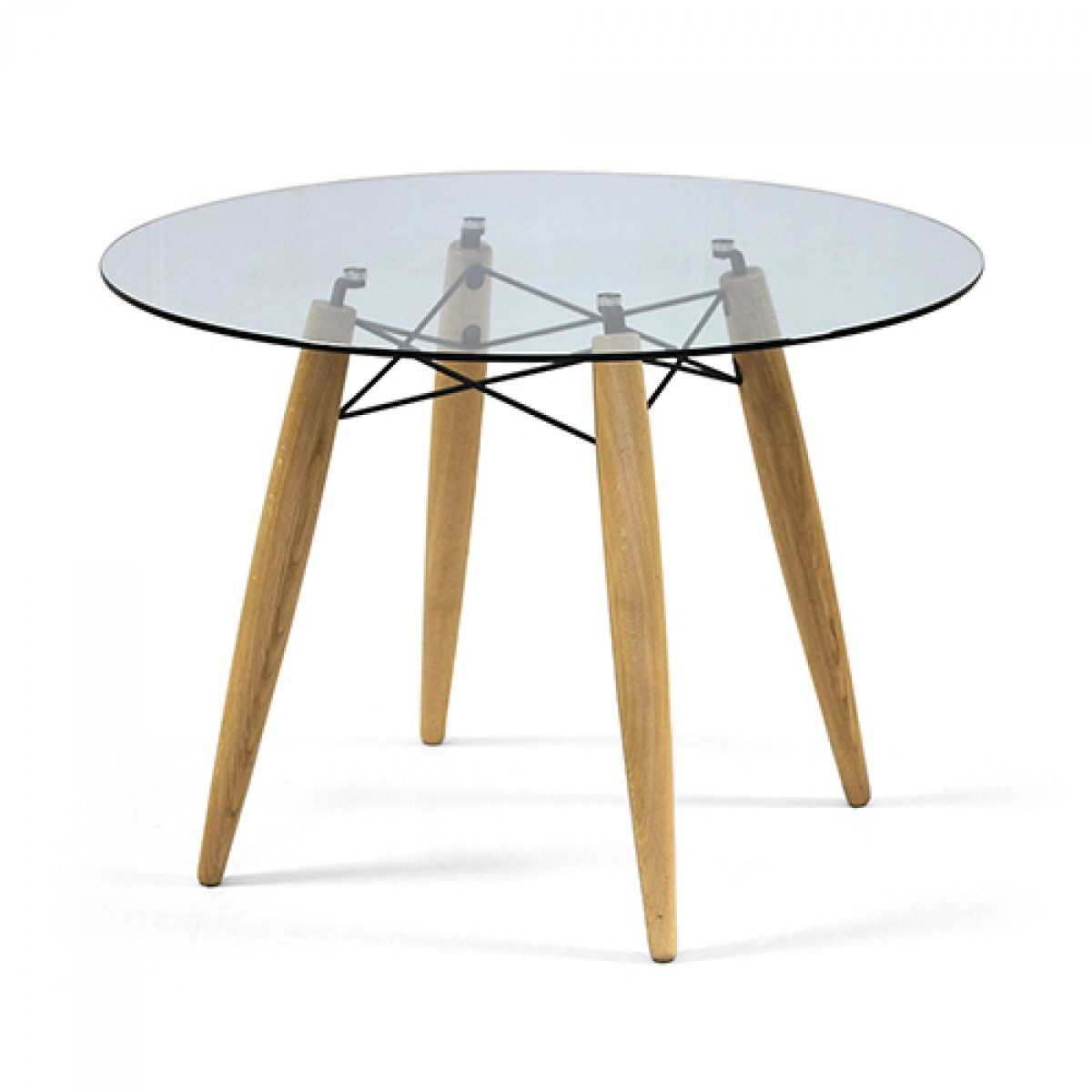 tisch rund glas tischplatte esstisch rund glas tisch