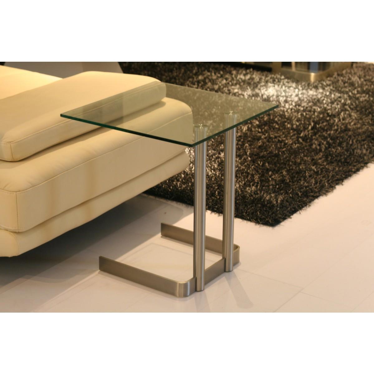 beistelltisch glas edelstahl beistelltisch glasplatte metallgestell beistelltische. Black Bedroom Furniture Sets. Home Design Ideas