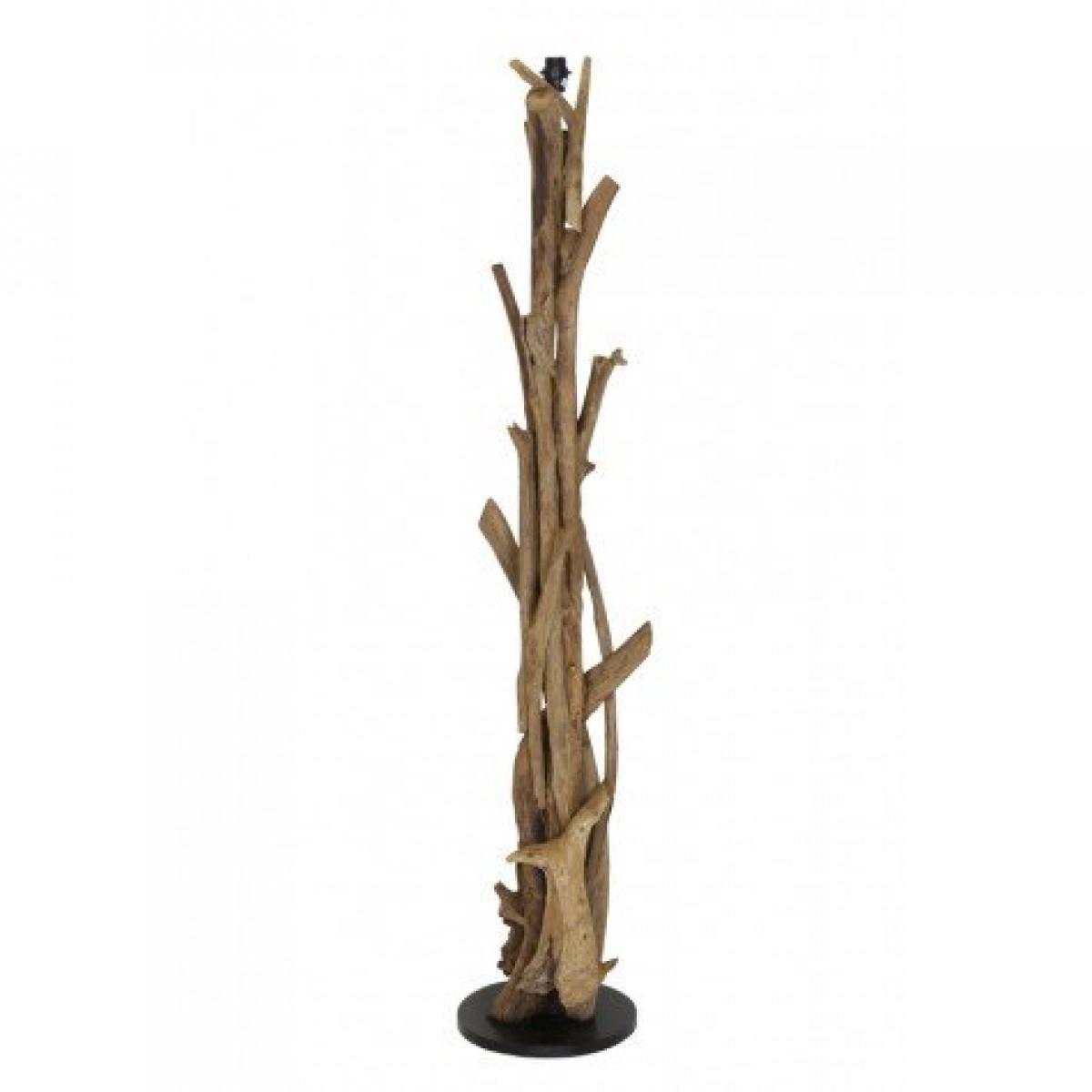 Lampenfuss Braun Antik Fur Eine Stehlampe Stehleuchte Aus Holz