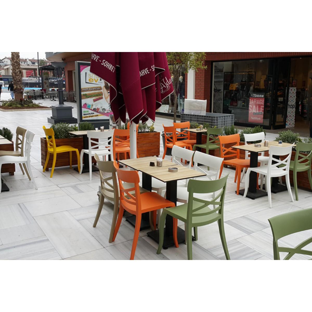 Gartenstuhl gelb stapelbar stuhl outdoor gelb kunststoff - Outdoor stuhle stapelbar ...
