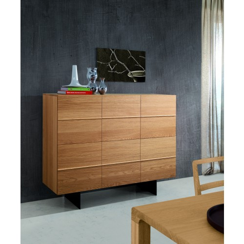 highboard eiche furniert schrank eiche furniert breite 140 cm. Black Bedroom Furniture Sets. Home Design Ideas