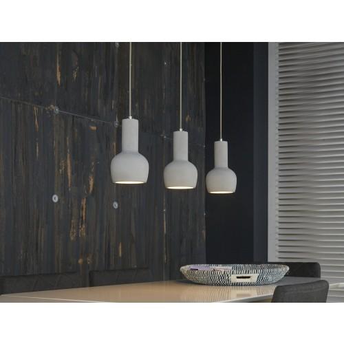 pendellampe beton grau h ngelampe h ngeleuchte grau breite 87 cm. Black Bedroom Furniture Sets. Home Design Ideas