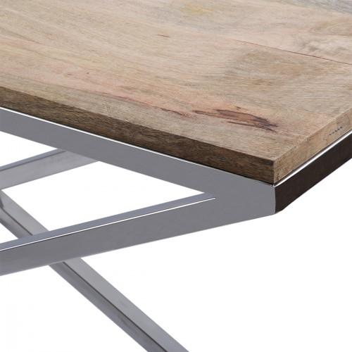 sideboard holz metall wandtiisch verchromt metall. Black Bedroom Furniture Sets. Home Design Ideas