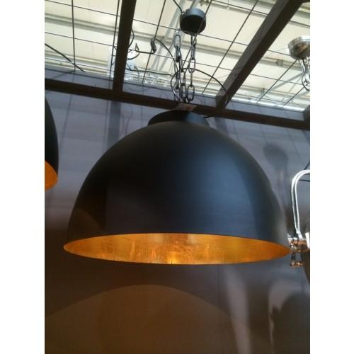 moderne pendelleuchte farbe schwarz gold 60 cm. Black Bedroom Furniture Sets. Home Design Ideas