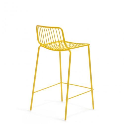 Barstuhl gelb metall stapelbar barhocker gelb metall for Barhocker gelb