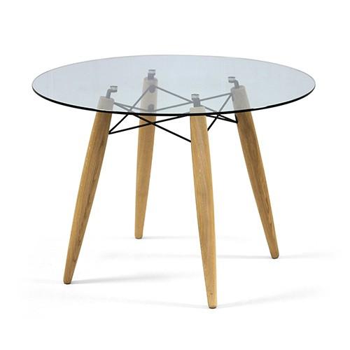 tisch rund glas tischplatte esstisch rund glas tisch tischplatte glas durchmesser 110 cm. Black Bedroom Furniture Sets. Home Design Ideas