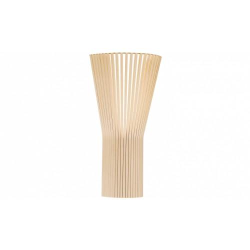 Birkenholz Farbe design wandleuchte aus birkenholz in vier farben 60 cm