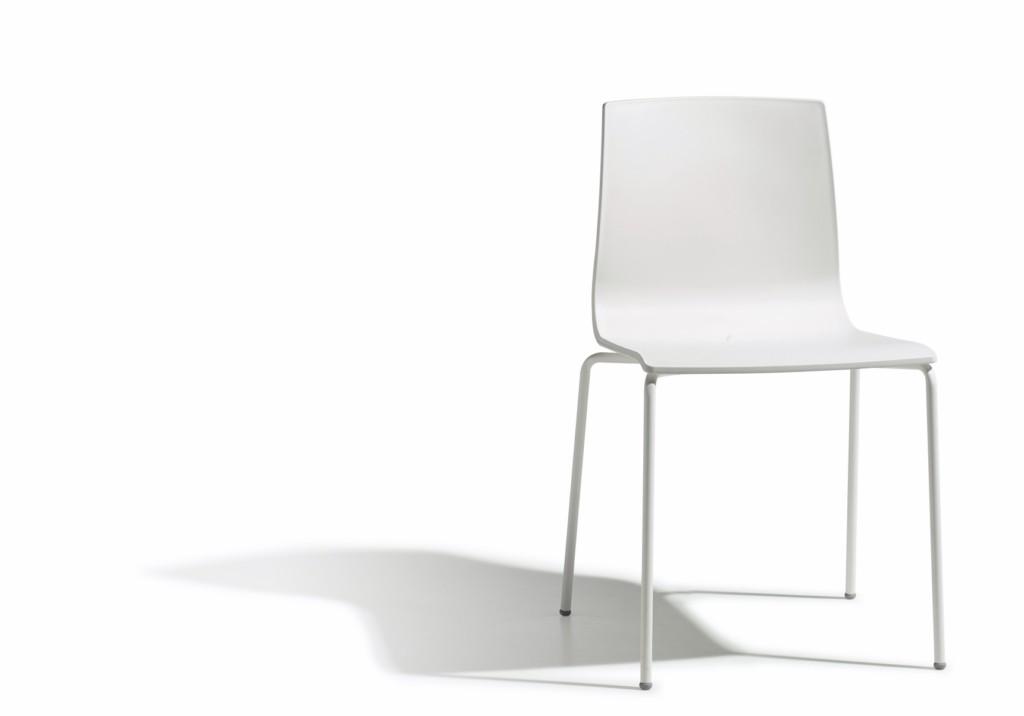 Design Stuhl, Farbe leinen, stapelbar, Outdoor geeignet