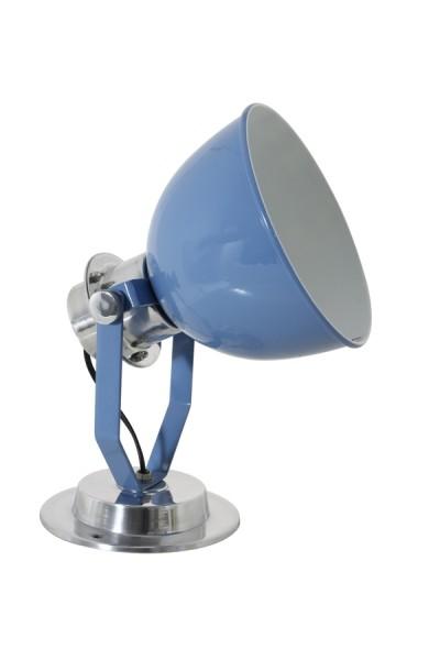 Wandleuchte rund, Farbe Blau , Ø 20 cm