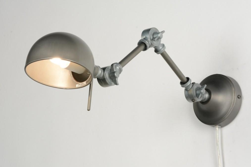 Wandleuchte landhaus grau wandlampe metall landhaus - Wandleuchte landhaus ...