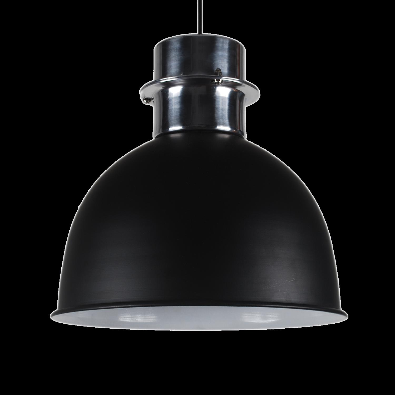 pendelleuchte schwarz matt metall h ngelampe metall schwarz durchmesser 30 cm. Black Bedroom Furniture Sets. Home Design Ideas
