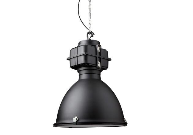 Hängeleuchte schwarz Industriedesign, Industrie Hängelampe schwarz, Durchmesser 50 cm