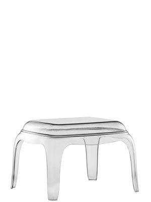 Beistelltisch transparent, Hocker modern, Couchtisch Farbe transparent