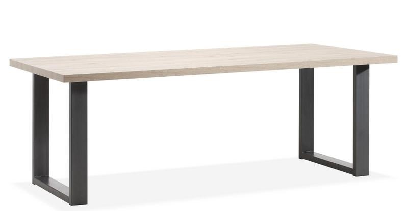 Esstisch Industriedesign,  Tisch Industriedesign, Breite 220 cm