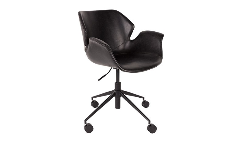 Bürostuhl schwarz, Stuhl schwarz, Schreibtischstuhl schwarz
