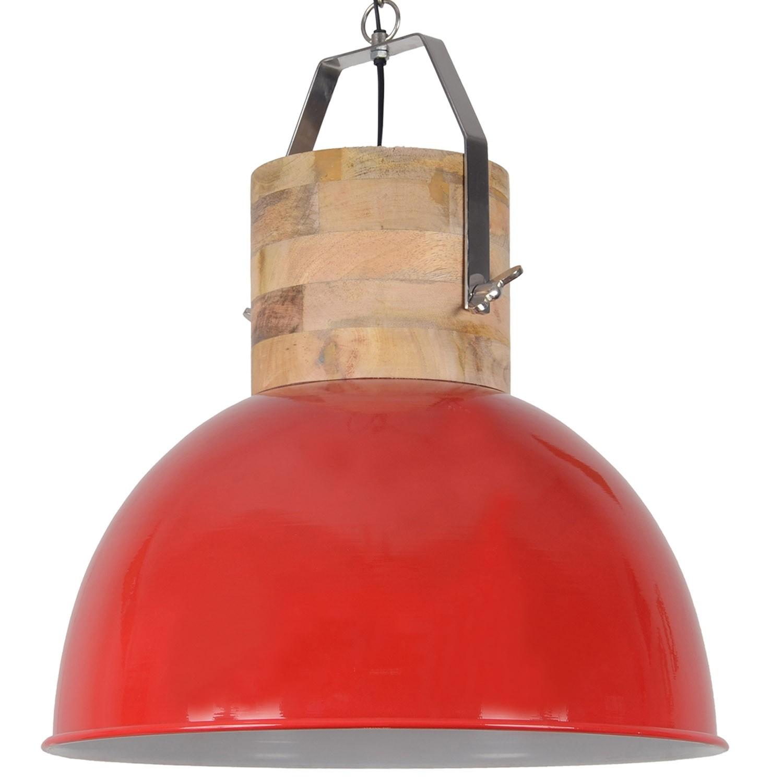 Pendelleuchte rot rund, Pendellampe rot, Hängeleuchte rot rund, Ø 40 cm