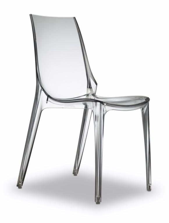Stuhl transparent, Stuhl stapelbar, Stuhl Outdoor Kunststoff