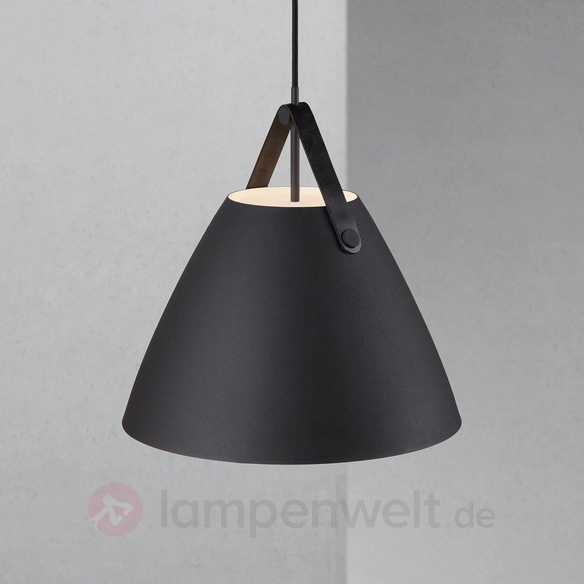 Hängeleuchte LED schwarz, Hängelampe schwarz LED, LED Lampe schwarz, Ø 16 cm