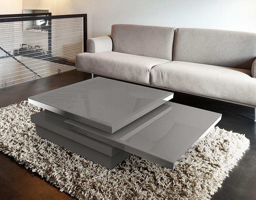 Couchtisch grau Glasplatte, Couchtisch Glas grau, Glastisch grau,  Maße 120x80 cm
