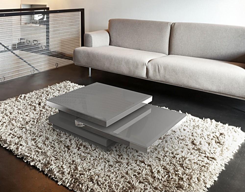 Couchtisch grau Glasplatte, Couchtisch Glas grau, Glastisch grau,  Maße 90x60 cm