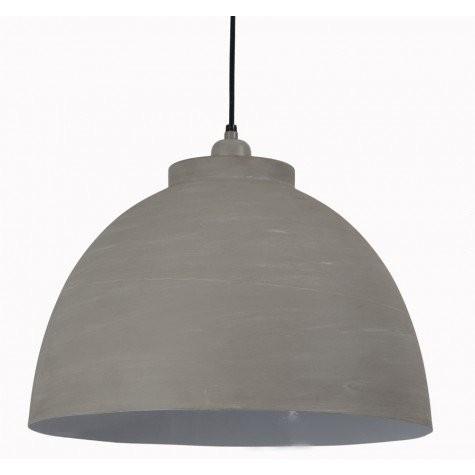 Hängelampe beton-grau, Hängeleuchte grau, Durchmesser 45 cm