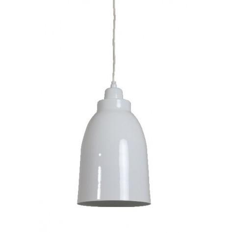 Pendelleuchte, Hängelampe, Farbe Weiß, Durchmesser 18 cm