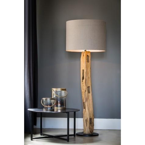 stehlampe holz lampenschirm stehleuchte holz lampenschirm zylindrisch durchmesser 35 60 cm. Black Bedroom Furniture Sets. Home Design Ideas