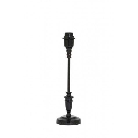 Lampenfuß schwarz, Tischleuchte schwarz, Höhe 40 cm