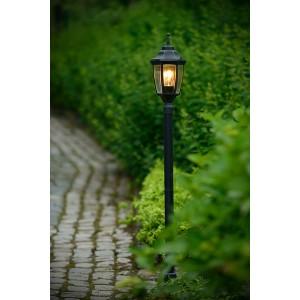 Gartenleuchte grün antik, Außenstandleuchte grün antik, Standleuchte außen grün antik, Höhe 120 cm