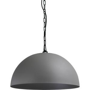 Pendelleuchte grau-schwarz, Beton-look, Industrielampe/ Retro-style, Ø: 50 cm