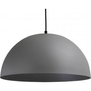 Pendelleuchte grau-schwarz, Beton-look, Industrielampe/ Retro-style, Ø: 40 cm