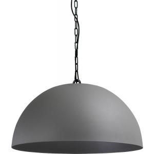 Pendelleuchte grau-schwarz, Beton-look, Industrielampe/ Retro-style, Ø: 60 cm