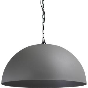 Pendelleuchte grau-schwarz, Beton-look, Industrielampe/ Retro-style, Ø: 80 cm