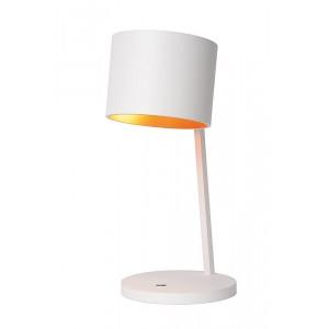 LED Tischleuchte weiß, LED Tischlampe weiß, Durchmesser 18 cm