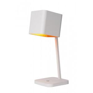 LED Tischleuchte weiß-gold, LED Tischlampe weiß-gold, Durchmesser 15 cm